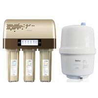 Haier海尔净水器HRO5003-5进口陶氏RO膜反渗透过滤家用直饮纯水机