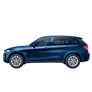 【当当自营】邦宝宝马X5系正版授权98粒汽车车辆模型益智拼装回力车积木玩具6803-1藏青色