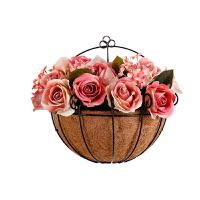 创意墙上墙面装饰品挂件花盆餐厅客厅奶茶店饭店房间卧室墙壁挂花墙上装饰品