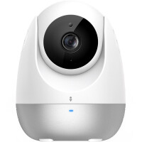 360智能摄像机 云台版1080P小水滴红外夜视高清网络摄像头无线wifi监控家用远程遥控商用安防探头手机语音D706