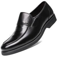 波图蕾斯男士皮鞋英伦商务休闲鞋套脚正装鞋婚鞋