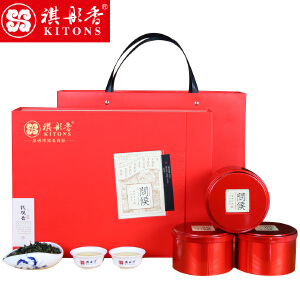 祺彤香茶叶 问候铁观音礼盒 安溪铁观音茶叶礼盒装250g秋茶