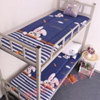 宿舍床垫0.85住校垫被床宿舍床学生床垫宿舍 深蓝色 眼睛兔兔