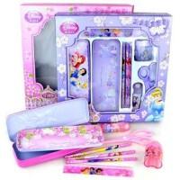 正版联众白雪公主 迪士尼P5016-1文具礼盒套装小号 礼物