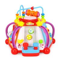 快乐小天地儿童学习桌多功能益智游戏桌婴幼儿宝宝1-2