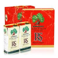 【西班牙进口】RS牌特级初榨橄榄油礼盒1L*2礼盒装