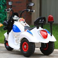 儿童电动摩托车 大号宝宝摩托车3-6岁双驱动充气轮宝宝电瓶车