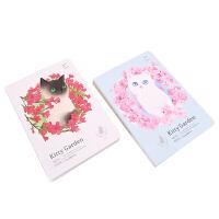 languo蓝果 LG-20681 猫咪花园-100天计划本 颜色图案随机 单个销售 当当自营