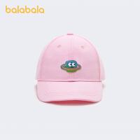 【超品返�� 2件5折:30】巴拉巴拉�和�帽子����小童女童��舌帽棒球帽遮�百搭魔�g�N刺�C潮