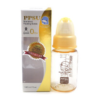 【澳门直购】台湾酷咕鸭KUKU PPSU超透气标准口径奶瓶