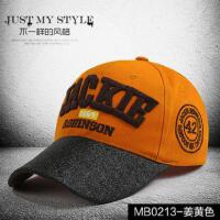 鸭舌帽子女韩版潮字母运动帽网红同款时尚休闲男士嘻哈帽休闲棒球帽户外运动新品