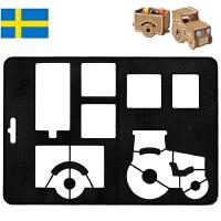 【当当海外购】瑞典进口Orthex姜饼屋3D模具烘焙DIY巧克力饼干模具(沃尔沃卡车)