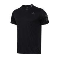 Adidas阿迪达斯 男装 2018新款跑步训练运动休闲短袖T恤 DM2810
