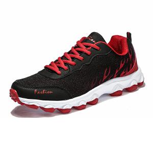 男鞋跑步鞋新款运动鞋网面透气耐磨休闲鞋男旅游鞋子