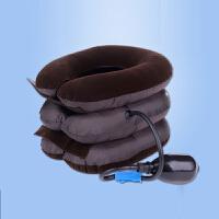 三层植绒颈椎牵引器家用颈椎充气颈部脖子牵引器颈托护颈 充气牵引器颈托