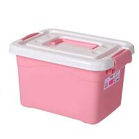 收纳箱塑料储物箱衣柜加厚简约衣服整理箱子衣物收纳盒汽车后备箱杂物收纳用品 120#6个滑轮 长63宽45高36.5cm