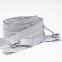 羽绒服拉链 8号树脂开尾双头双向上棉睡袋粗齿单头加长锁