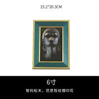 轻奢相框摆件现代简约拉丝金相框画装饰欧式美式实木个性创意摆台 相框