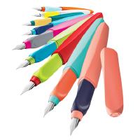 pelikan德国百利金钢笔P457撞色钢笔小学生用可替换墨囊正姿练字墨水笔礼盒装办公成人书写儿童矫正握姿刻字