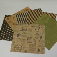 千纸鹤折纸 正方形折纸 欧美风复古牛皮纸 手工纸 diy折纸