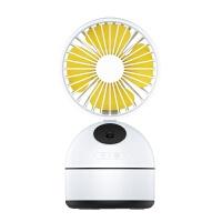 夏天宿舍降温网红抖音同款制冷空调加湿器带小风扇微型喷雾水 白色 送电源头