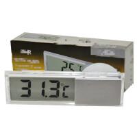 电子时间显示器 汽车吸盘式电子时钟玻璃液晶车载表汽车用品 吸盘 单