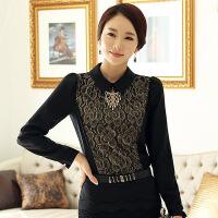 打底衫 女士翻领加绒加厚长袖打底衫2020年冬季新款韩版时尚潮流女式修身洋气女装套头衫