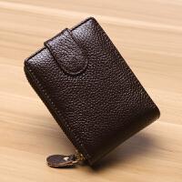 新款牛皮男士驾驶证卡包韩版真皮拉链风琴女式钱包多功能行驶证套