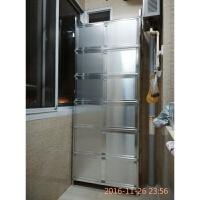 致力碗柜不锈钢厨房橱柜茶水灶台柜铝合金储物柜餐边柜阳台柜