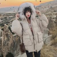 棉袄2018冬季新款女装ins面包服中长款羽绒棉衣宽松加厚外套