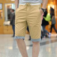 优质 男士纯棉水洗短裤 五分七分裤沙滩裤休闲裤男大码
