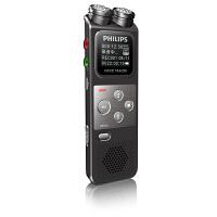 飞利浦VTR6900 8G专业录音笔 高清 远距降噪 大双麦克风录音笔 变速播放 声控录音 分段录音FM收音 FM录音