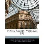 【预订】Hans Sachs, Volume 191 9781144499882