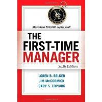 【中商原版】第一次做经理(第6版)英文原版 First-Time Manager 6th Edition 管理 领导