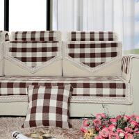 福存家居 沙发垫坐垫 全棉手工编织布艺加厚防滑 纯棉沙发套沙发罩沙发巾盖巾飘窗垫