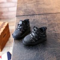 男女童棉鞋软底防滑防水加厚短靴 宝宝雪地靴小童保暖鞋1-3-5岁潮