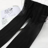 斜纹丝袜连裤袜夏季打底袜子女薄款大码T档肉色 黑色 6双 均码
