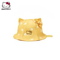 【2件3折:32.7元 可�B券】HelloKitty童�b2020秋新款女童玩趣�O夫帽�和�帽子