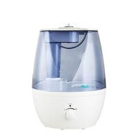小型空气净化迷你香薰机加湿器家用静音大容量办公室卧室空调 透明蓝