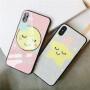 免邮 苹果X手机壳iPhone8/7防摔闪粉玻璃保护套6s plus简约小清新男女款 小猪社会猪手机套