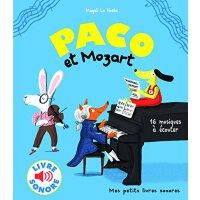 【现货】法语原版 帕克与莫扎特:16首歌曲 Paco et Mozart: 16 musiques à écouter