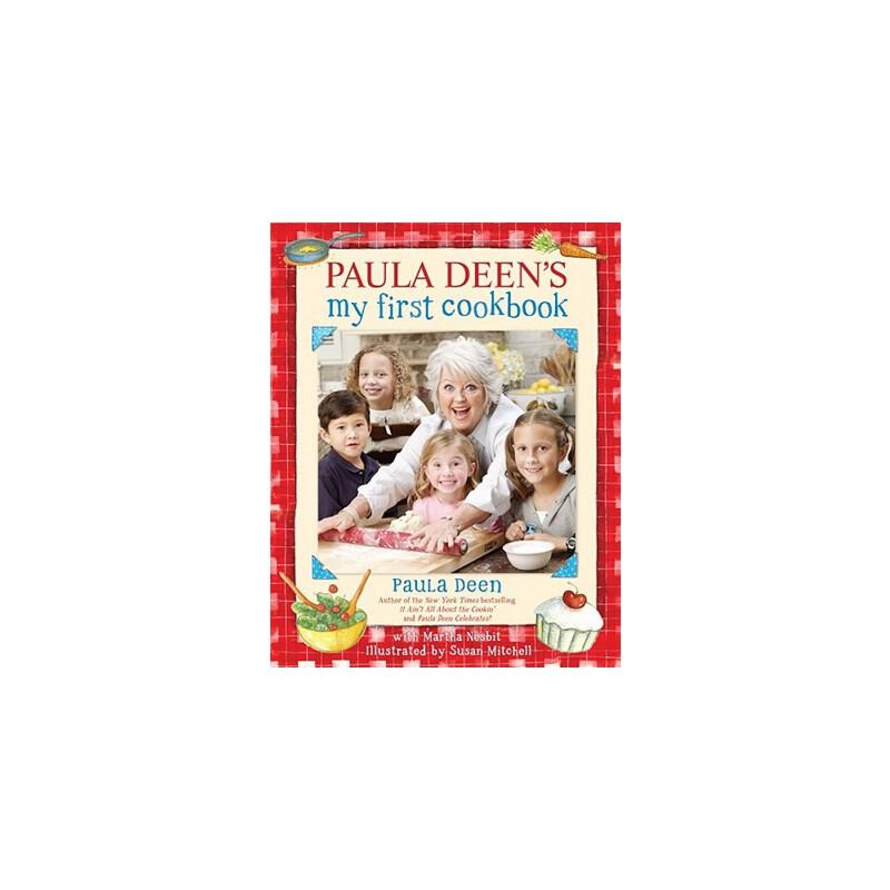 【预订】Paula Deen's My First Cookbook 预订商品,需要1-3个月发货,非质量问题不接受退换货。