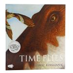 【中商原版】凯迪克 穿越恐龙时代 英文原版 Time Flies 无字书 会飞的时间 时光飞逝 1995年凯迪克银奖