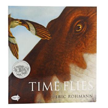 《凯迪克:时间如梭 英文原版 Time Flies 无字书
