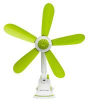 中联电风扇FF15-42 家用迷你静音 电扇 风扇 小风扇 学生儿童 台式 夹扇 吊扇 绿色