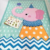宝宝爬爬垫加厚棉质儿童折叠爬行垫防滑游戏毯婴儿环保地垫 140*200cm