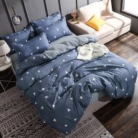 床上四件套被套床单卡通床品一米八学生宿舍单人被子1.5m两件套装