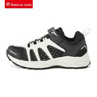 【到手价:129元】探路者童鞋 19春夏新款户外男女童透气网布徒步鞋QFAH85022