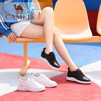 camel骆驼女鞋秋季新款小白鞋 时尚活力单鞋百搭简约学院风小白鞋