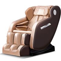 按摩椅家用全自动全身多功能智能豪华老人按摩椅太空舱机械手 香槟金 智能机械手